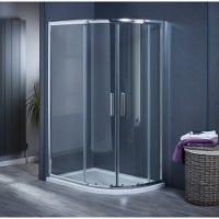 Aqua-I6 Offset Quadrant Shower Enclosure