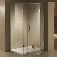 Aquadart Inline 2 Sided Shower Enclosures