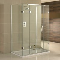 Aquadart Inline 3 Sided Shower Enclosures
