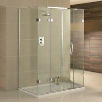Aquadart Inline Frameless Shower Enclosures