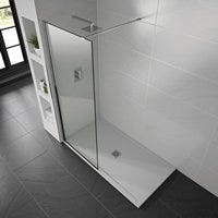 Aqualavo White Gloss Shower Trays