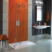 Coram Walk In Glass Shower Panels