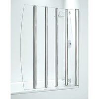 Five Panel Folding Bathscreens