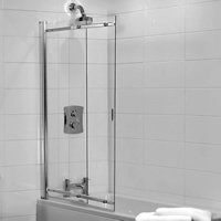 Frameless Sliding Bathscreen