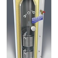 Stelflow Twin Coil Indirect Unvented Stainless Steel Cylinders