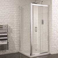 Venturi 6 Frameless Bifold Shower Door