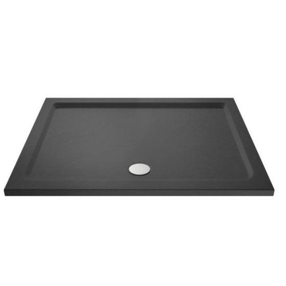 Hudson Reed Rectangular Shower Tray 1700mm x 700mm - Slate Grey