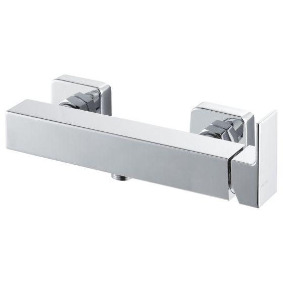 Vema Lys Single Outlet Shower Mixer Bar Valve - Chrome