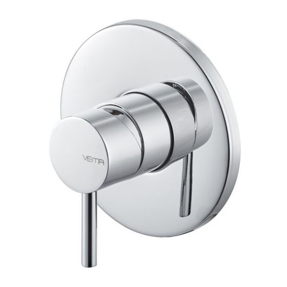 Vema Maira Single Outlet Concealed Shower Mixer - Chrome