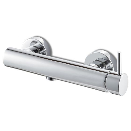 Vema Maira Single Outlet Shower Mixer Bar Valve - Chrome