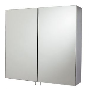 Cavalier Stainless Steel Double Mirror Cabinet