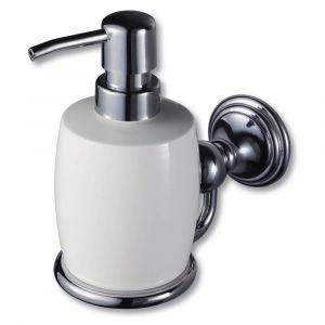 Allure Chrome Push Down Soap Dispenser