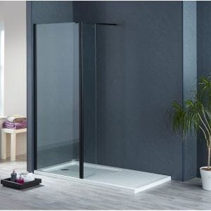 Aqua-I Black Flipper Panel 300mm x 1900mm High