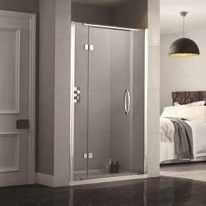 Aquadart Inline Recess Frameless Shower Doors