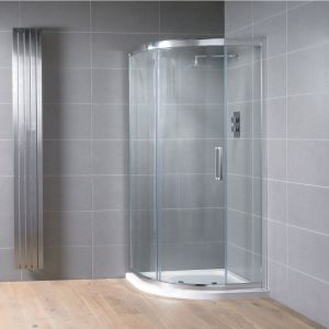Aquadart Venturi 8 Single Door Quadrant Shower Enclosure 900mm x 900mm