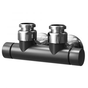 Asquiths Central Manual Valves - Mineral Anthracite