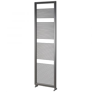 Asquiths Round Tube Radiator 1600mm x 500mm - Mineral Anthracite