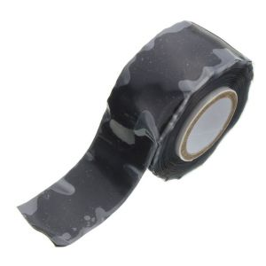 Black X-Treme Silicone Repair Tape 25mm x 3m Roll