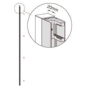 Coram Optima Extension Spacer Pack White 40mm