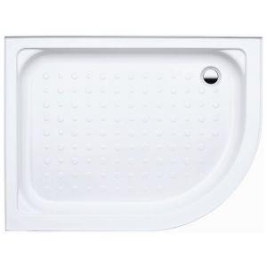 Coram Waterguard Riser Shower Tray 1000mm x 800mm Offset Quadrant Left Hand