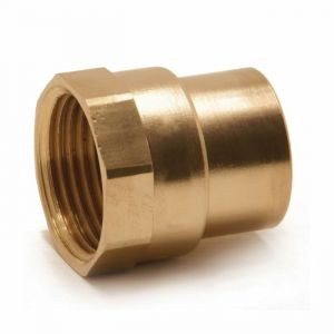 End Feed Female Iron Coupler 28mm x 1