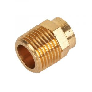 End Feed Male Iron Coupler 42mm x 1 1/2