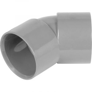 Grey 40mm Solvent 135 Degree Bend