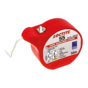 Loctite 55 Pipe Thread Sealing Cord - 50m Roll