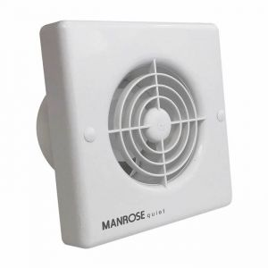 Manrose Quiet Pull Cord Extractor Fan 100mm / 4