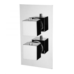 Niagara Observa Square Twin Concealed Shower Valve