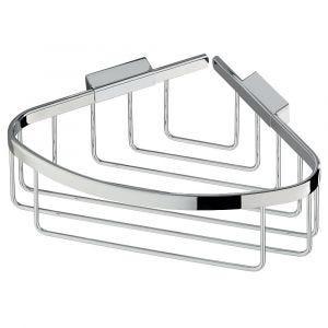 Chrome Shower Corner Basket