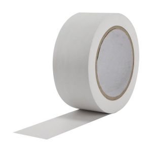 White PVC Tape 50mm x 33m Roll