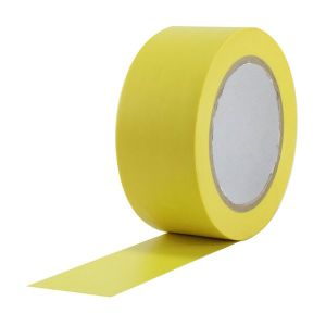 Yellow PVC Tape 50mm x 33m Roll