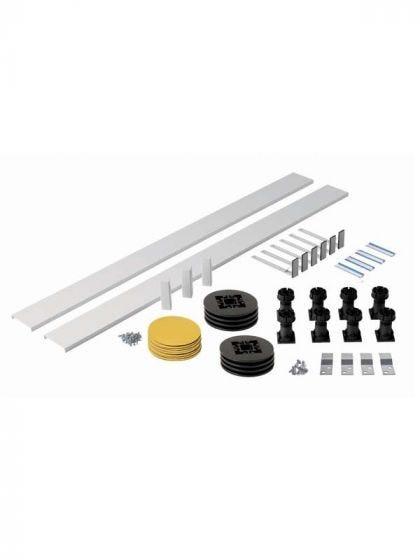 Aqua-I & MX Shower Riser Kit For Square, Rectangle Shower Trays Over 1200mm
