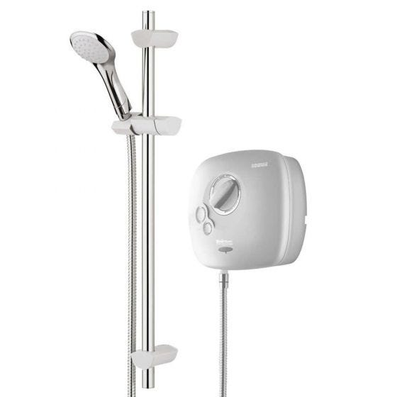 Bristan Thermostatic Power Shower 1500 White / Chrome