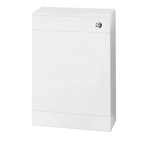 Nuie Mayford Cloakroom 500mm Toilet Unit - Gloss White