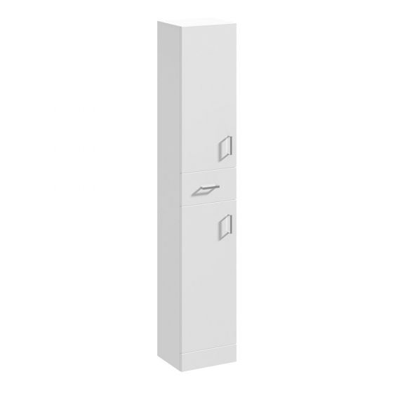Nuie Mayford 350mm Tall Unit 300mm Deep -  Gloss White