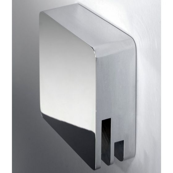 RAK Square Free Flow Bath Filler with Click Waste
