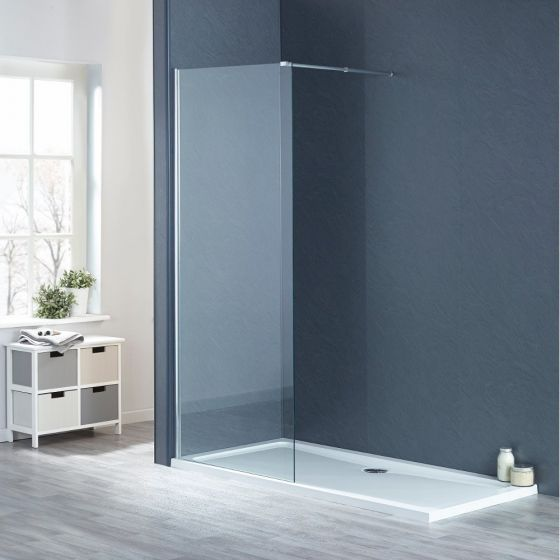 Aqua-I8 Wetroom Screen Panel 400mm x 1900mm High
