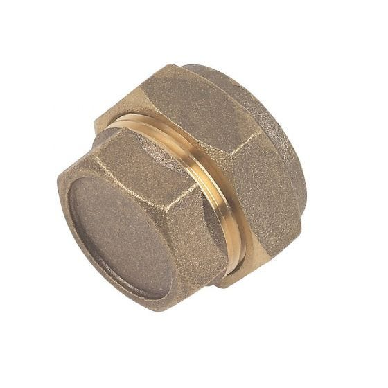 Brass Compression Stop End