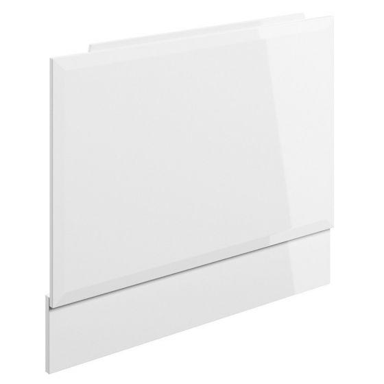 BTL Volta L-Shape White Gloss End Bath Panel