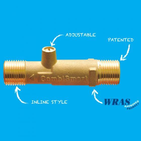 Combismart Water & Energy Saving Thermostatic Valve 15mm