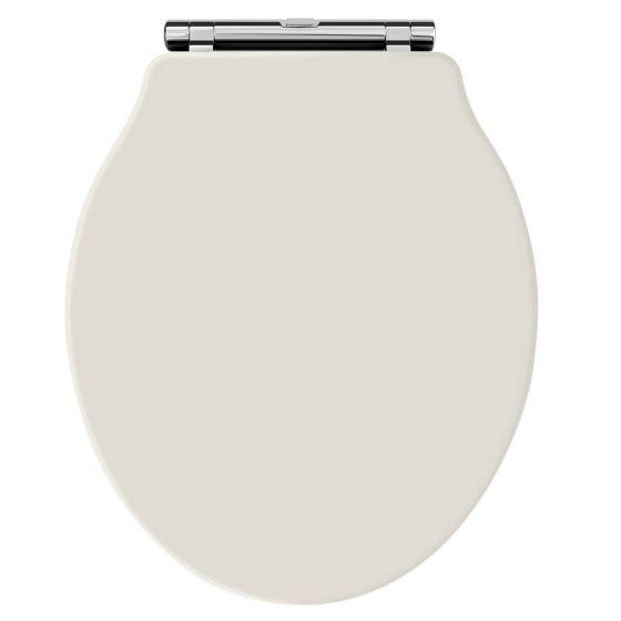 Hudson Reed Old London Chancery Soft Close Toilet Seat - Timeless Sand