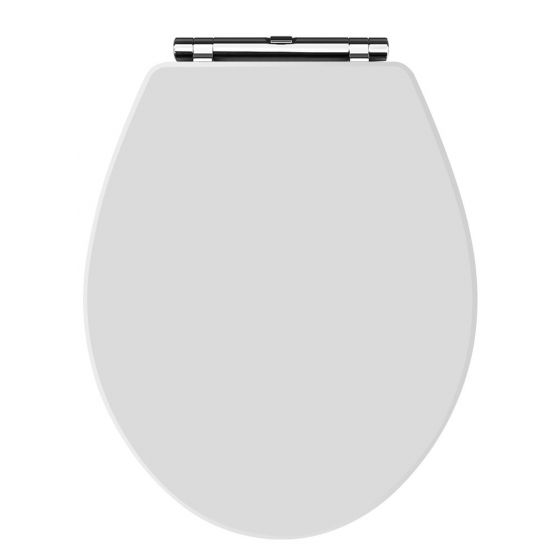 Hudson Reed Old London Richmond Soft Close Toilet Seat - White