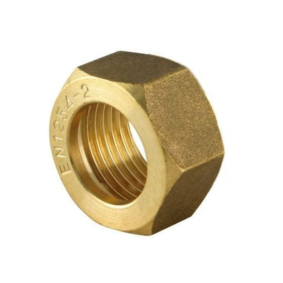 Brass Compression Spare Nut