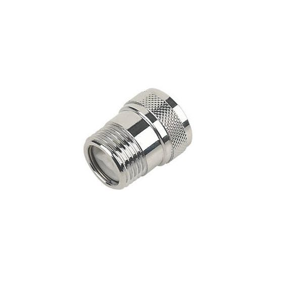 Chrome Shower Hose Check Valve 1/2""