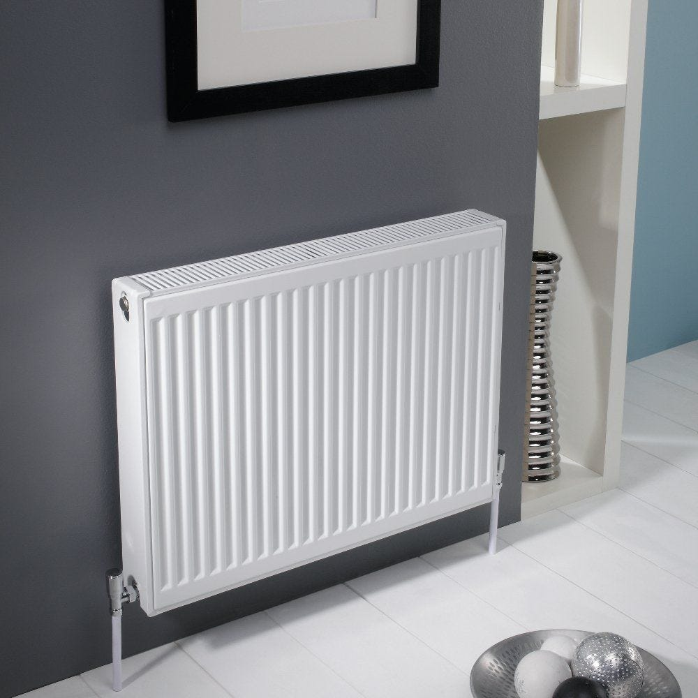 Kartell Kompact 600mm High X 1500mm Wide Double Panel Radiator