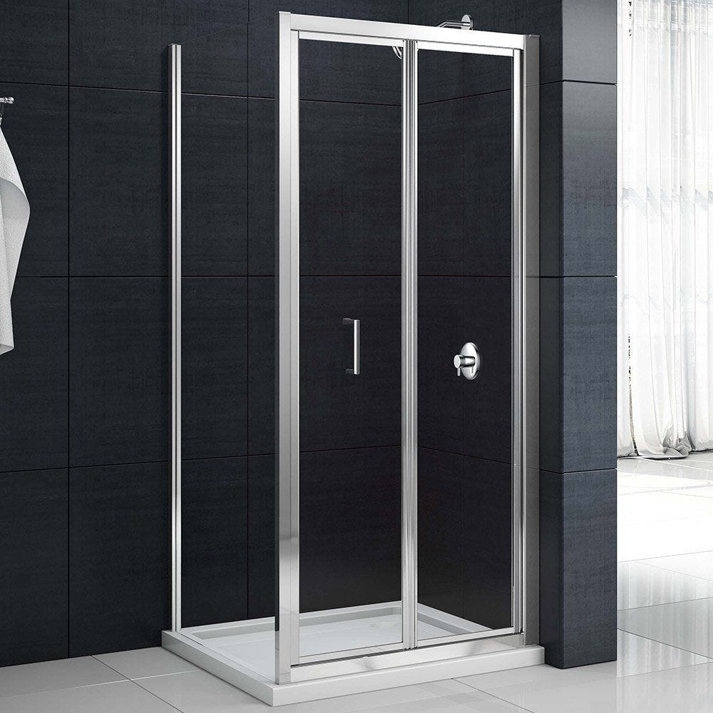Merlyn Mbox Bifold Shower Door 700mm Touch To Zoom