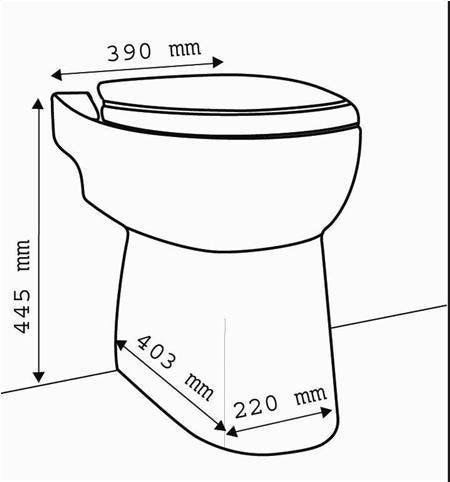 Sanicompact Toilet With Built In Macerator