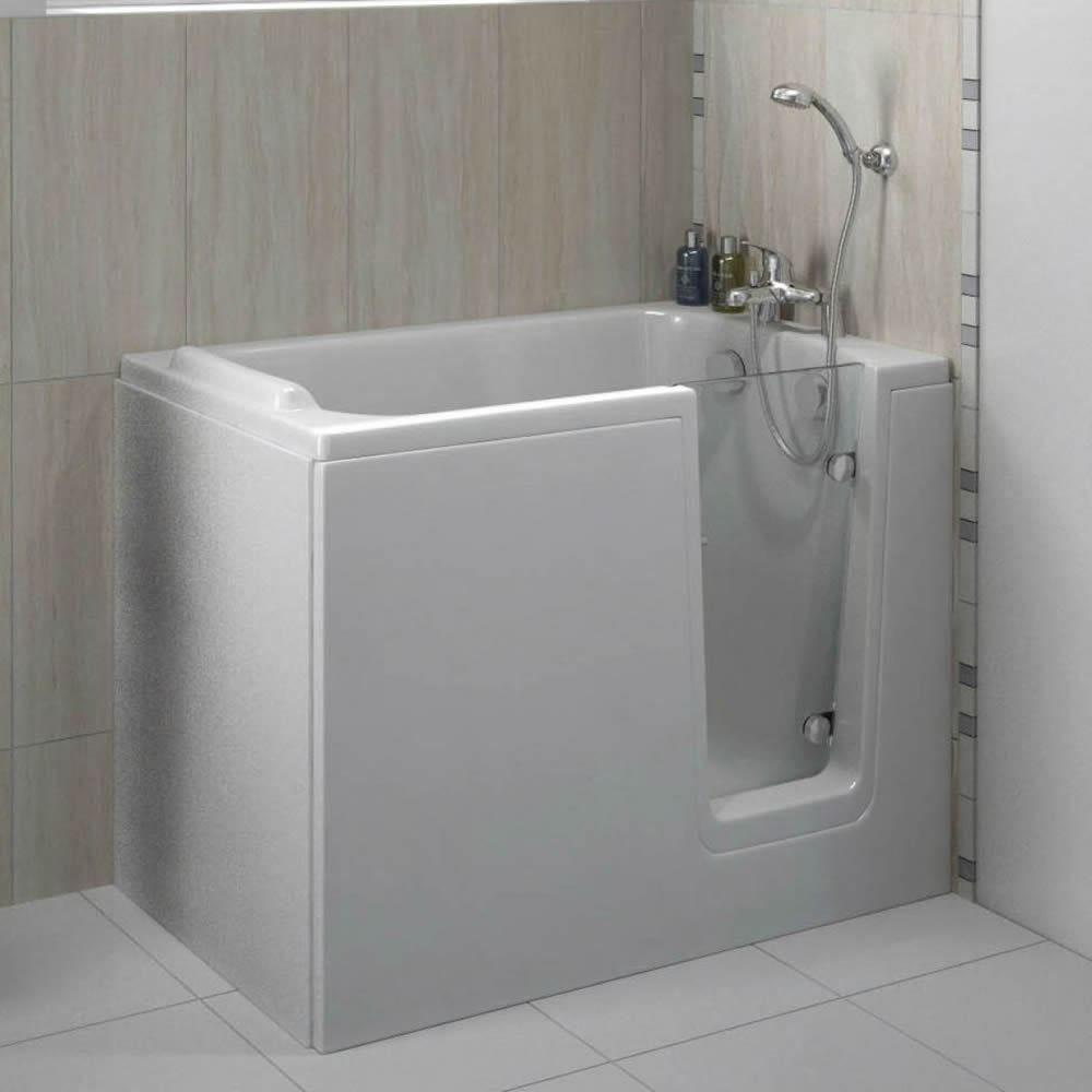 Trojan Bathe Easy Comfort 1210mm X 650mm Deep Soak Walk In